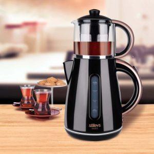 Stilevs Çays CM 16 Çay Makinesi Siyah-Bakır